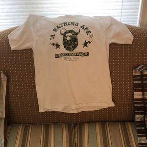 Bear brick X Bape collab t-shirt